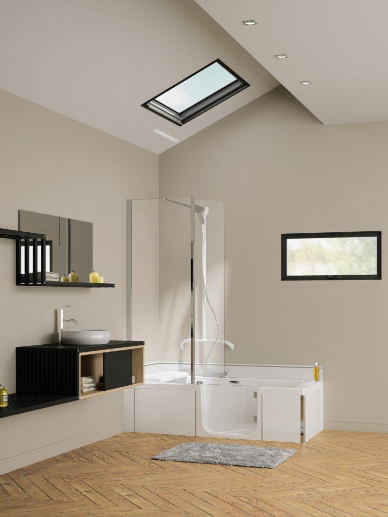 De douche/badcombinatie geschikt voor elke badkamer - Installatienet.nl